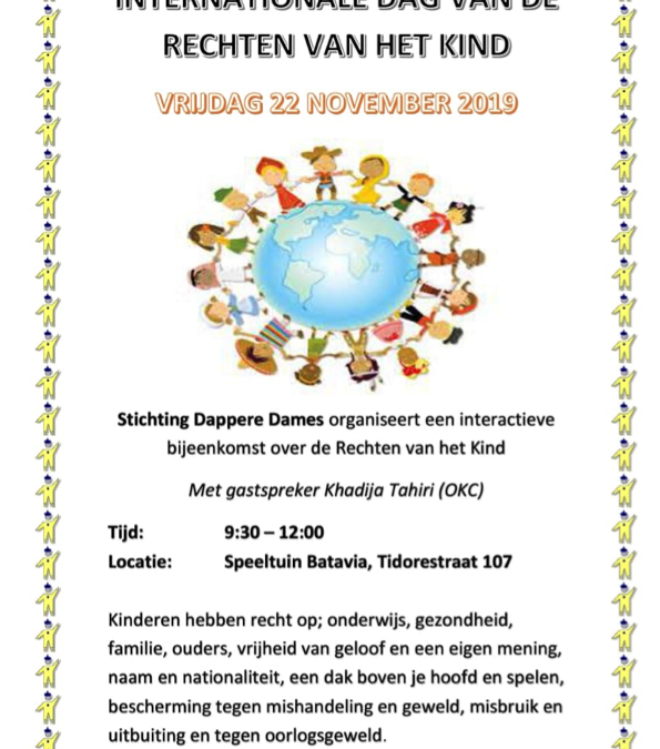 Internationale Dag Kinderrechten Batavia 22 nov. 2019